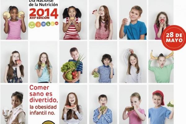 Comer sano es divertido, la obesidad infantil no.