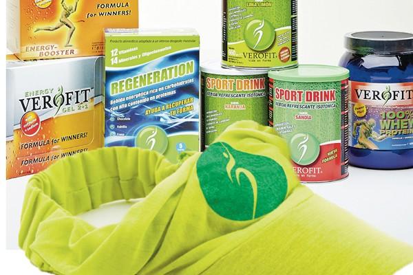 Nutrición deportiva Linea Activa Verofit