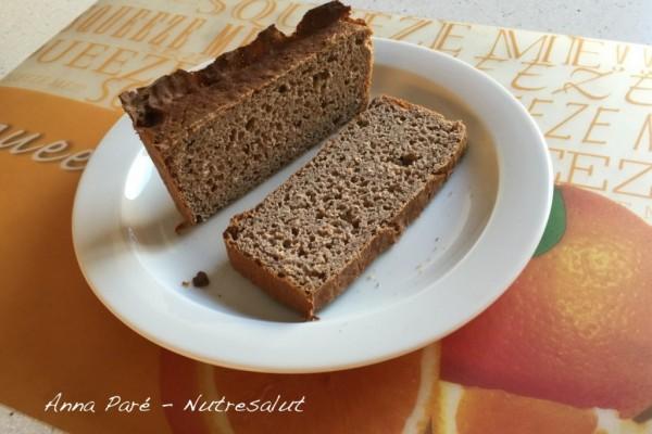 Pan de castaña y sarraceno con semillas de chía