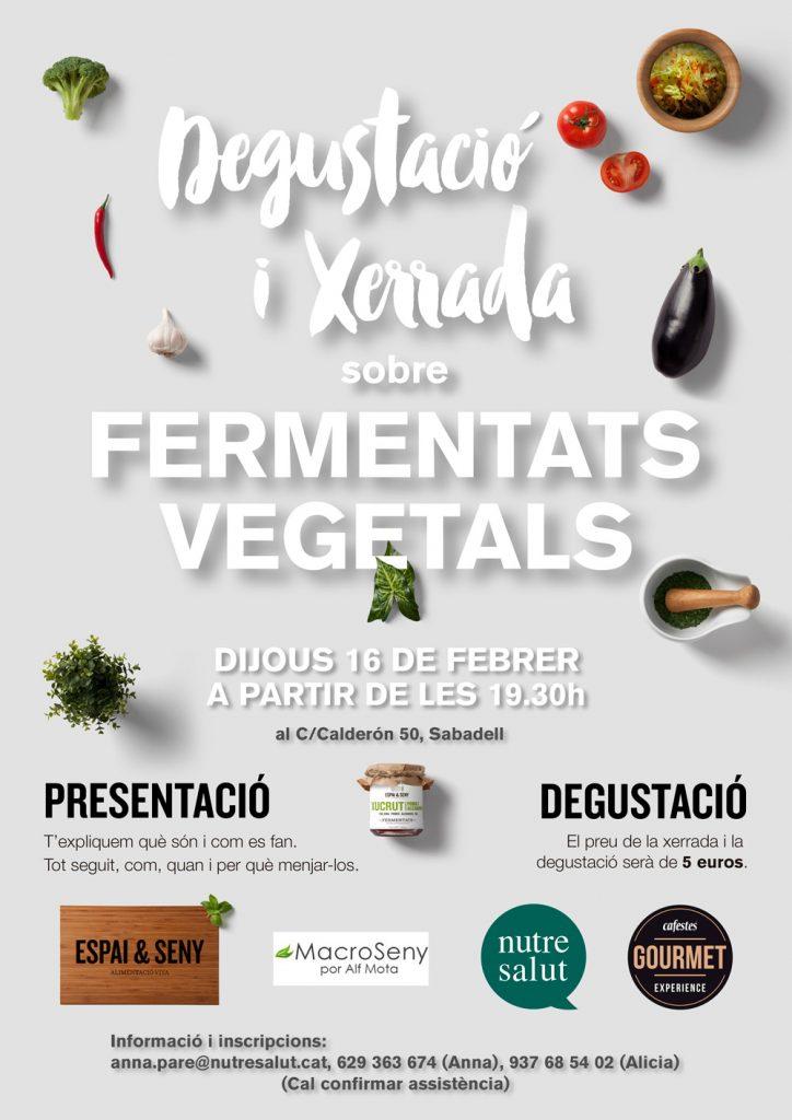 Xerrada ferments vegetals