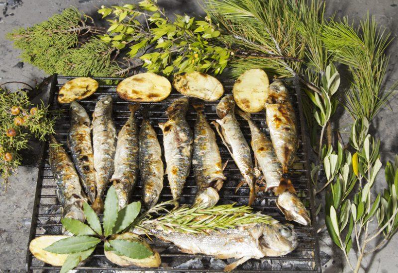Pescado azul omega-3