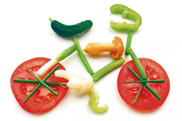 bicicleta d'aliments