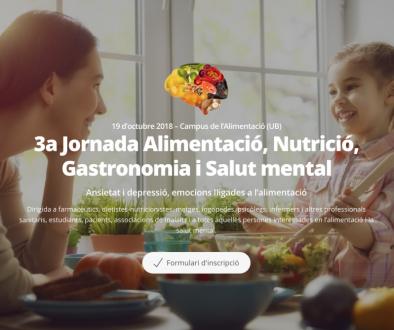 Jornada Nutrició i Salut mental
