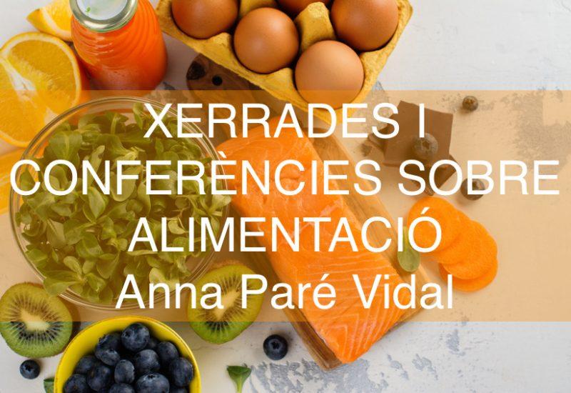 Xerrades Anna Paré