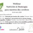 Webinar Nutrición y fitoterapia para nuestros dos cerebros
